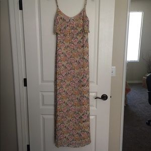New Joie XS maxi floral dress